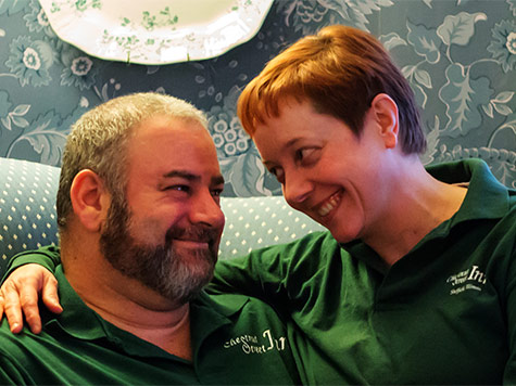 Jeff and Monika - The Chestnut Inn Owners