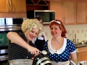 Lucy and Ethel's European Vacation on a Plate