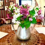 Lovely spring flower arrangements